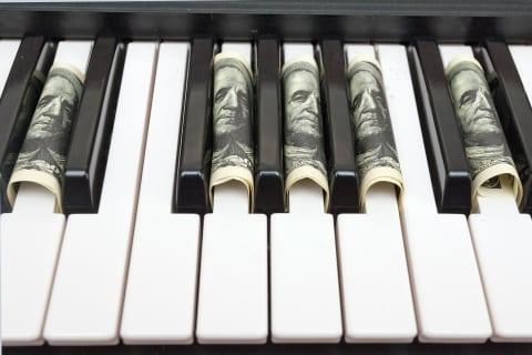 money piano