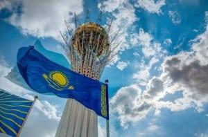 Flag-Kazahstana