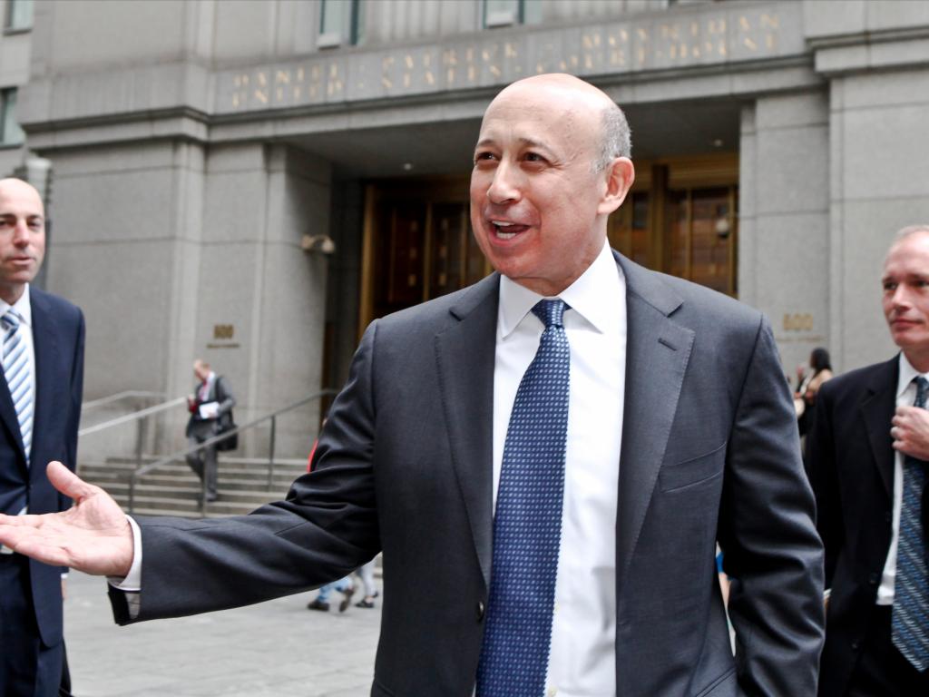 CEO Goldman Sachs Ллойд Бланкфейн