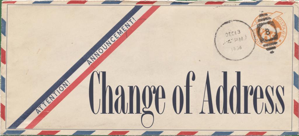 Change-of-Address