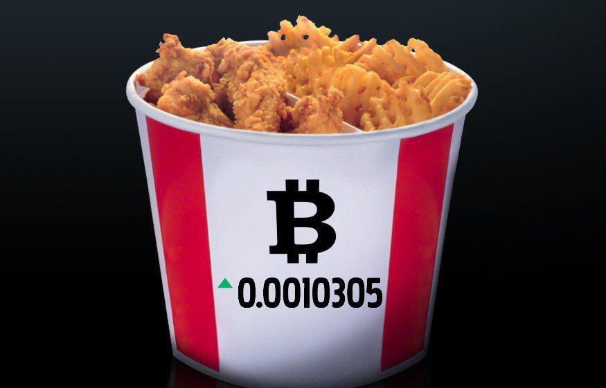 KFC, Bitcoin, Канада