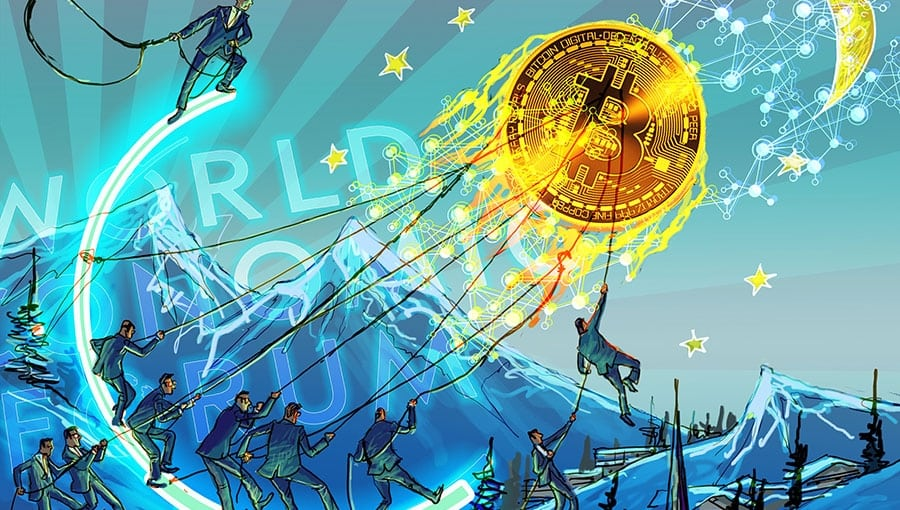 Davos cryptocurrency