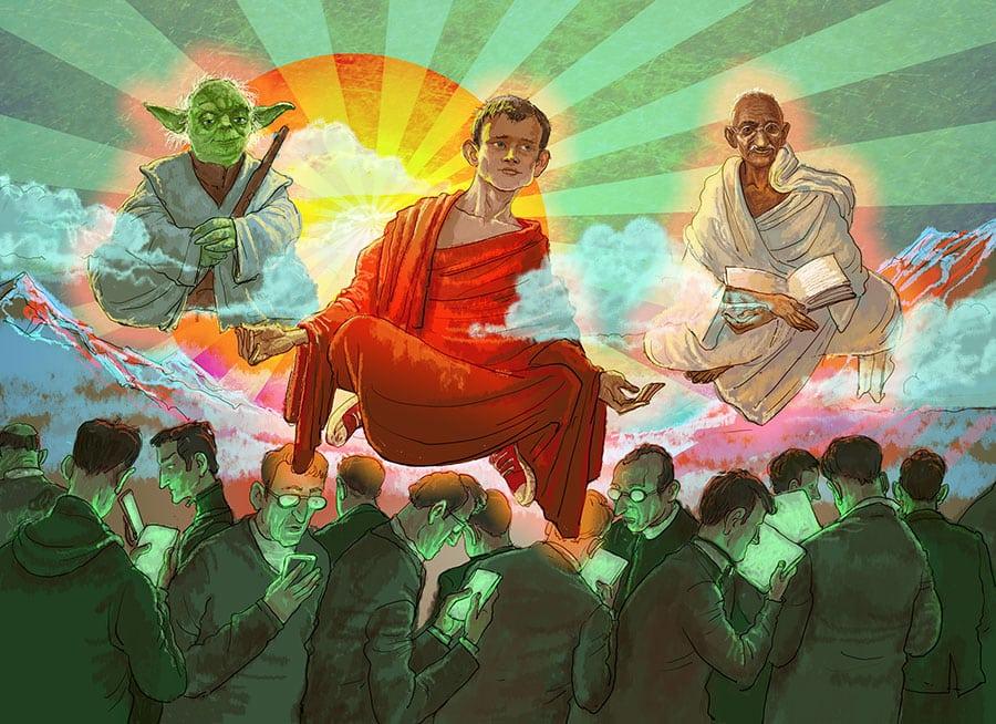 Gandhi Yoda Buterin