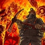 mining on fire