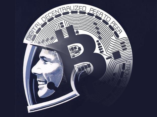 Гагарин, биткоин, криптовалюты