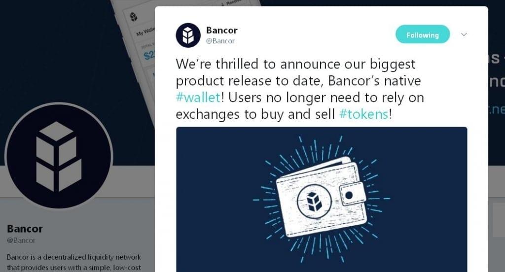 Bancor-Wallet-Release-CoinCalenar