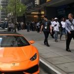 Припаркованные у Consensus 2018 Lamborghini оказались арендованными