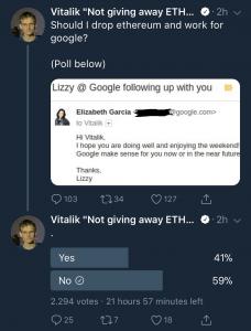 Виталик Бутерин - твиттер