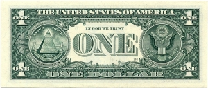 One-Dollar-USA-VERY-FINE-NOTE-with-Fancy-Number-1