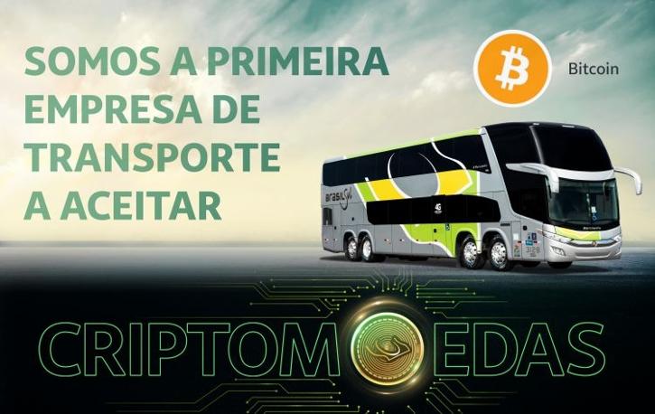 Две бразильские автобусные компании начали принимать оплату в крипте