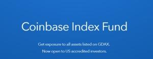 Coinbase объявила о запуске индексного фонда