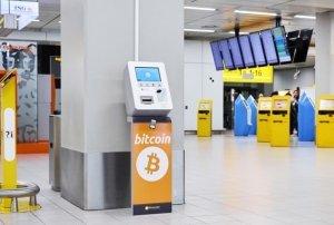 Амстердамский аэропорт экспериментирует с криптобанкоматом