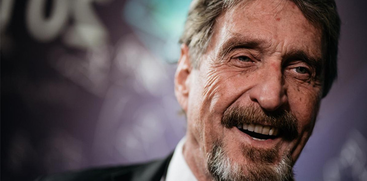 john-mcafee-will-tweet-crypto-project-105000