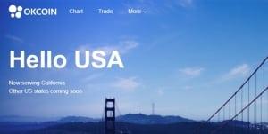 OKCoin сообщила об открытии торговой площадки в США
