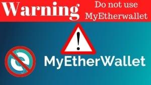 MyEtherWallet-Attacked