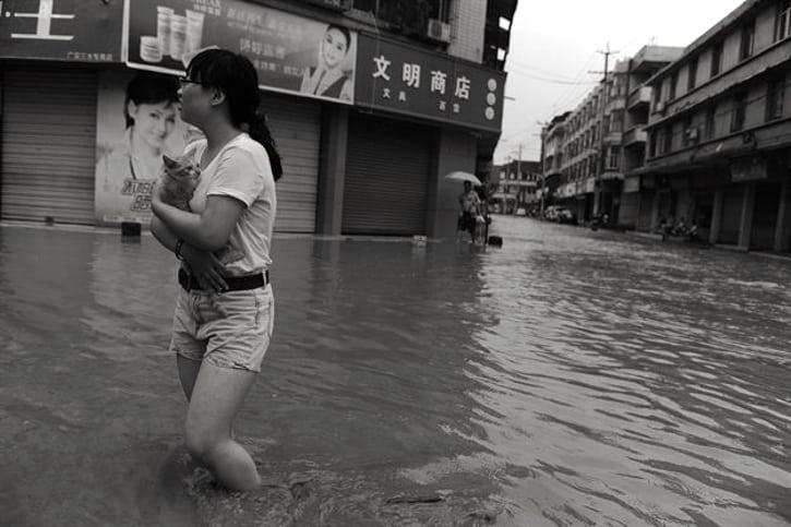 Майнеры Китая подсчитывают убытки от наводнения в Сычуани