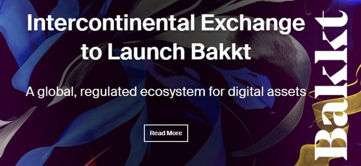 Биржевой конгломерат ICE объявил о создании площадки для цифровых активов Bakkt