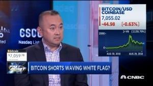 Удержавшись на уровнях около 7 тыс. неделю или две, биткоин пойдет в рост, - Genesis Trading