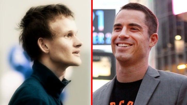 Виталик Бутерин и Роджер Вер разошлись во взглядах на копирайт, а создатель Dogecoin спас Илона Маска от ботов-скамеров