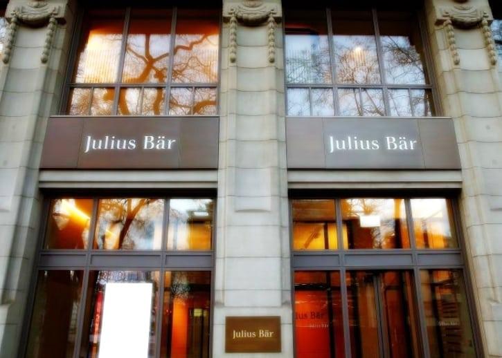 Julius Baer без особой огласки предложил клиентам криптовалютный инвестиционный продукт