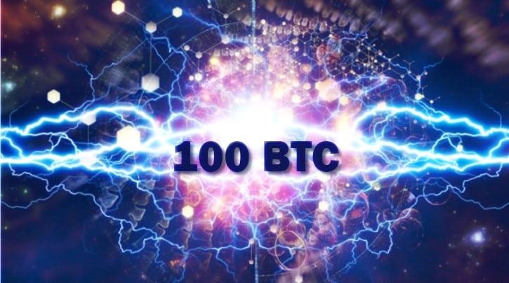 Пропускная способность Lightning Network выросла до 100 биткоинов