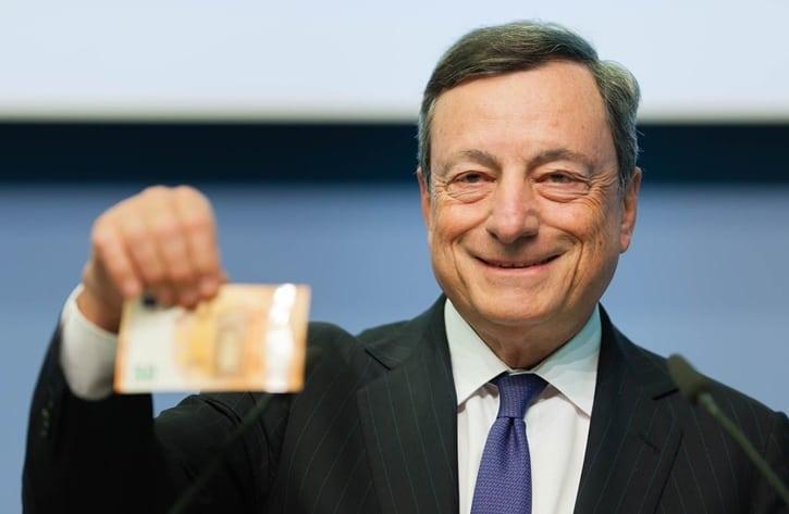 Марио Драги: ЕС не планирует выпускать «цифровой евро»