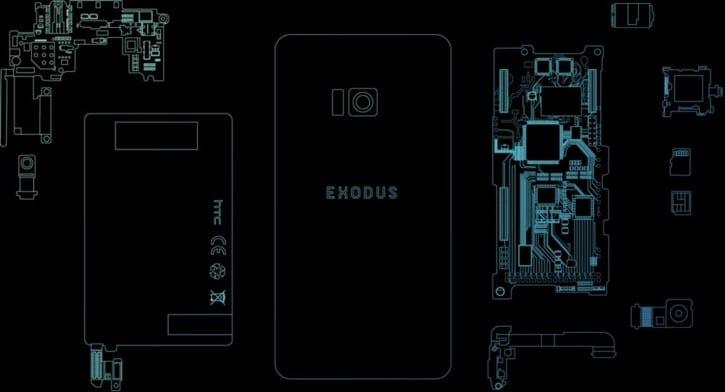 НТС покажет свой блокчейн-смартфон Exodus до конца октября 2018 года