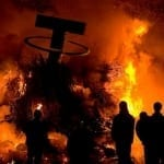 Tether burning