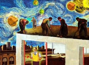 Van Gogh and Hopper