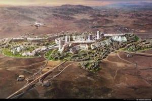 Крипто-миллионер построит блокчейн-сити в Неваде