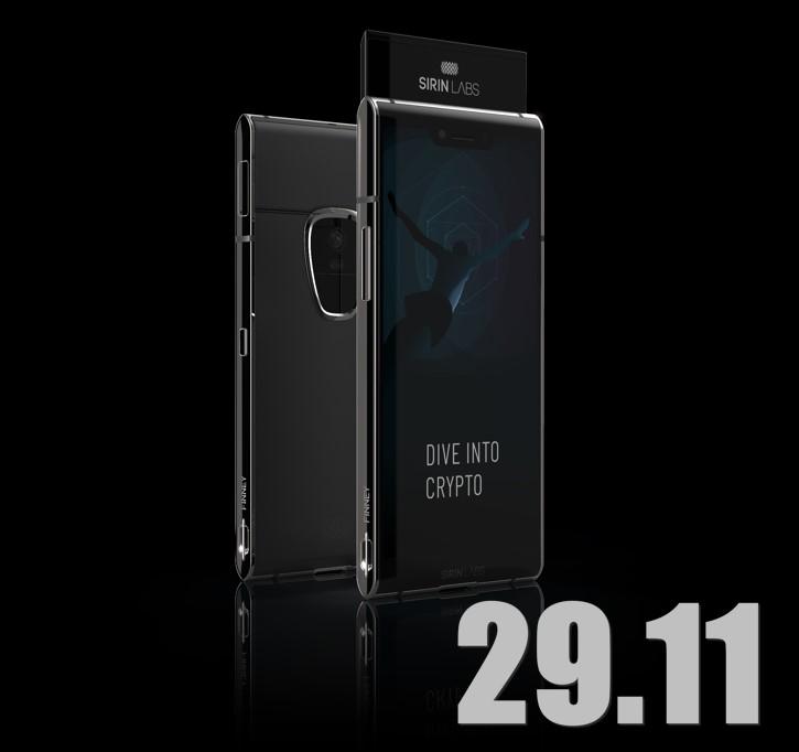 Sirin Labs 29 ноября начинает продажи своего криптофона Finney