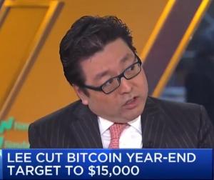 Том Ли: Биткоин все еще может вырасти до конца года
