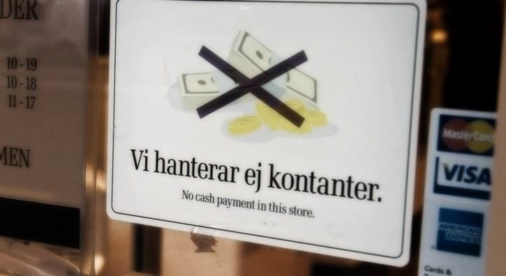Через несколько лет наличные в Швеции могут исчезнуть из оборота, - Sverige Riksbank