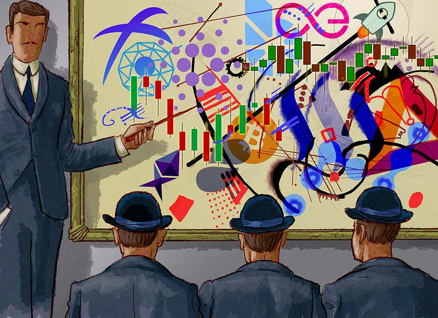 Kandinsky for cryptotraders