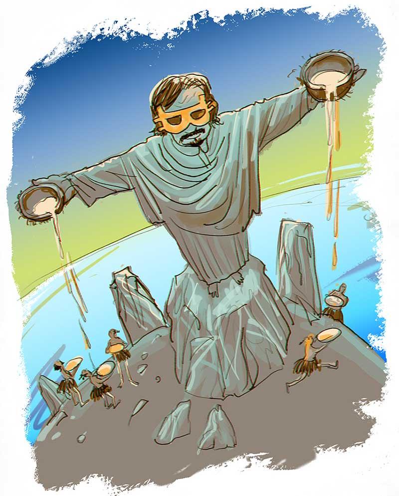 Satoshi Nakamoto as Jesus