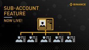 Binance представила возможность заводить несколько профилей внутри одного аккаунта
