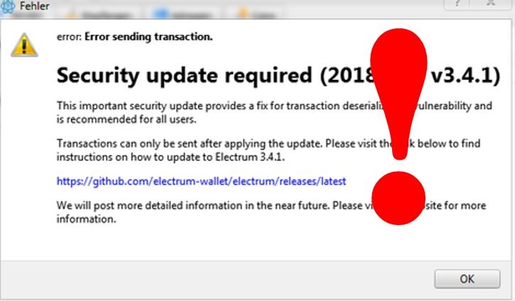 Хакеры воспользовались уязвимостью кошелька Electrum, похитив свыше 200 биткоинов