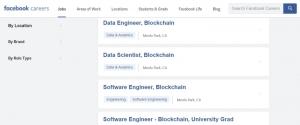 СМИ: Facebook подбирает кадры и готовит «блокчейн-решение для миллиардов»
