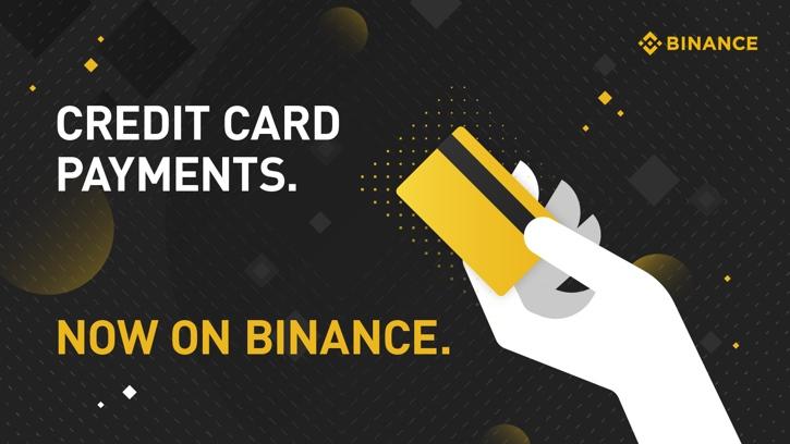 Binance открыла возможность покупать крипту с помощью карт VISA и MasterCard