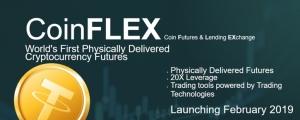 Стартап CoinFLEX в феврале запустит торговлю криптофьючерсами за Tether с физической поставкой актива