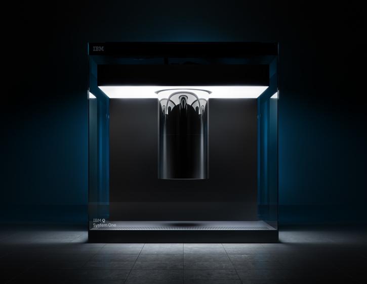 IBM показала первый серийный квантовый компьютер
