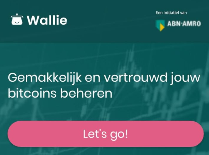Голландский банк ABN AMRO тестирует собственный биткоин-кошелек Wallie