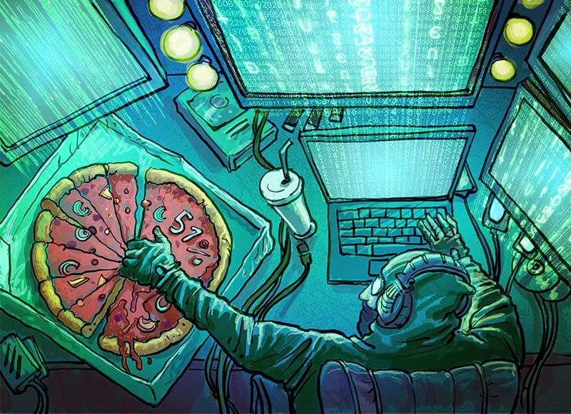 NiceHash делит пиццу на всех