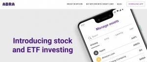Abra даст клиентам возможность инвестировать в акции и ETF, используя биткоин