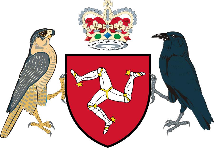 Герб острова Мэн