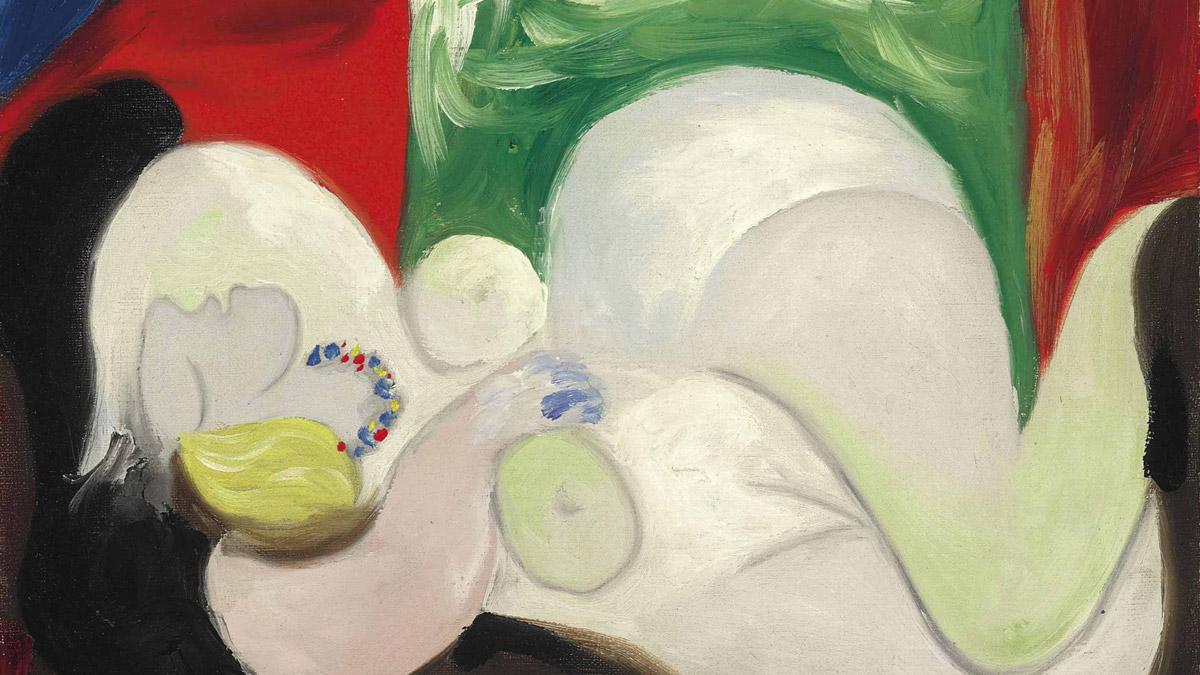 Картина Пикассо «Лежащая обнаженная в колье» воплощена в виде NFT-токена