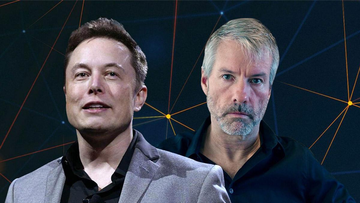 Майкл Сейлор и Илон Маск объединили крупнейших майнеров Америки для улучшения экологического имиджа биткоина
