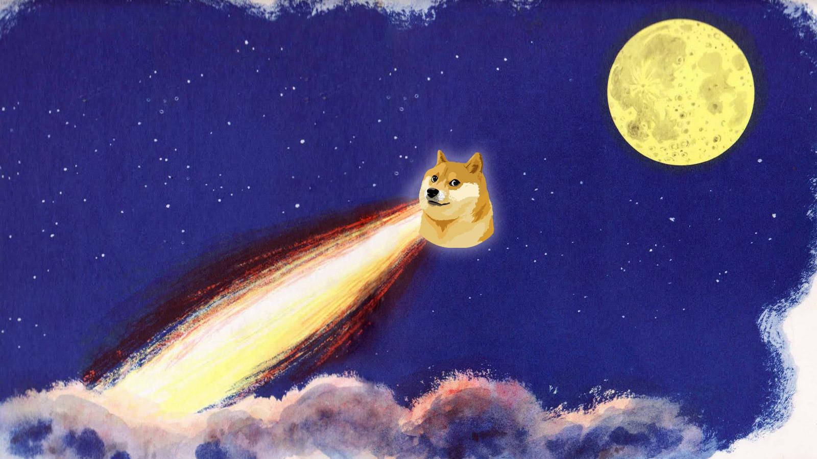 Несерьезная монета Dogecoin превысила по капитализации Nintendo и выбила XRP из топ-4