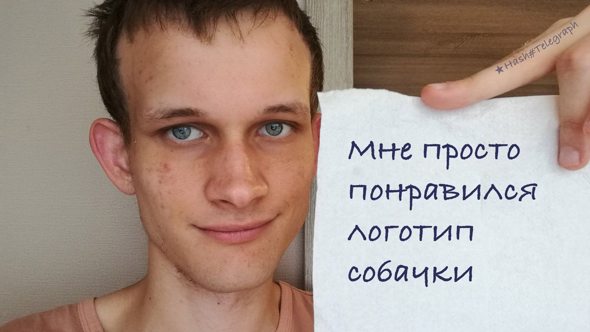 Виталик Бутерин признался, что заработал более $4 млн на Dogecoin