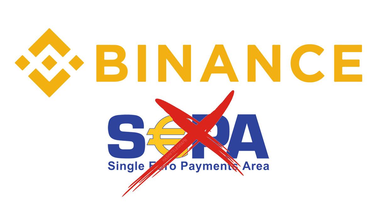 Биржа Binance прекратила прием банковских переводов евро из-за регуляторных проблем
